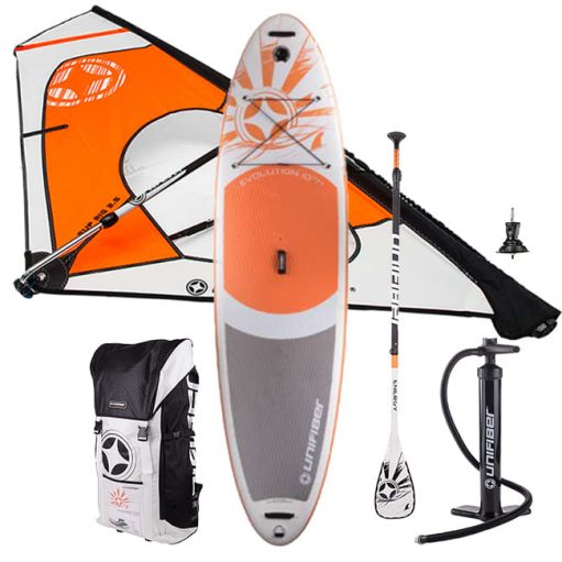 2019 Unifiber Allround Evolution iWindSup 10'7 Complete